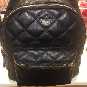 Quilted  Kate spade back pack